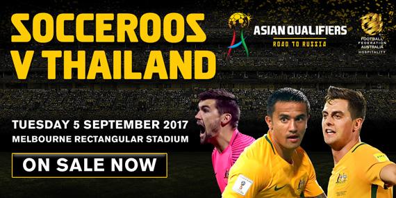Socceroos v Thailand panel