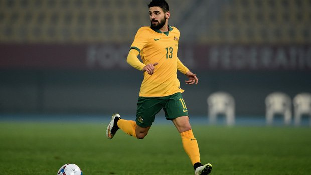 Caltex Socceroos fullback Aziz Behich has tuned up for the upcoming World Cup qualifiers against Iraq and UAE with his Turkish side Buraspor overnight.
