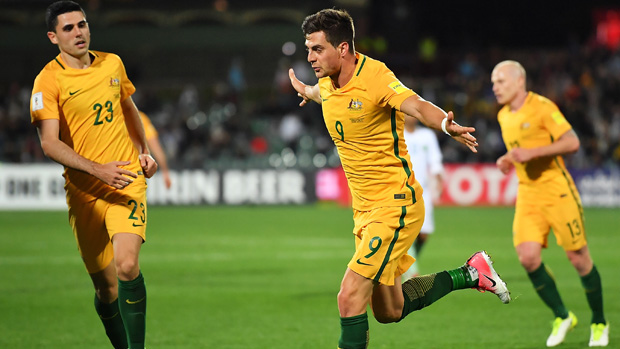 Ange Postecoglou praised the performance of Tomi Juric in Australia's win over Saudi Arabia.