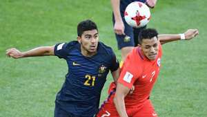 Gallery: Socceroos impress in draw with Chile
