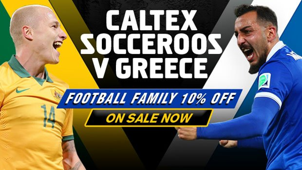 The Socceroos will face Greece in a friendly clash at Etihad Stadium on June 7.