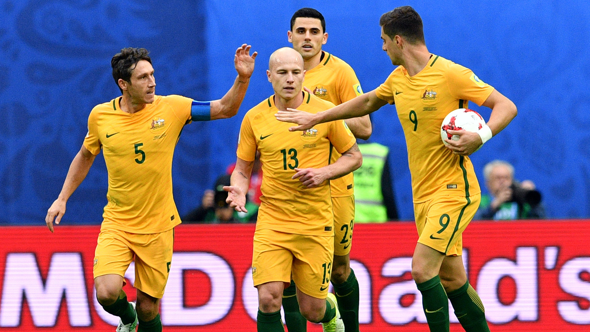 Jedinak left out for Socceroos' Syria clashes