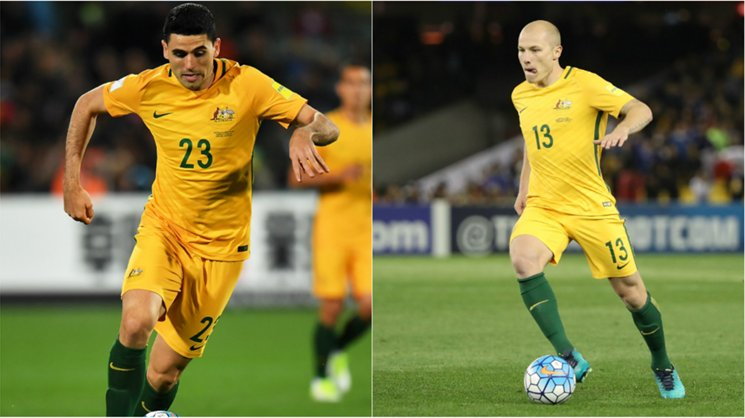 Playmakers Tom Rogic and Aaron Mooy loom as crucial figures to the Caltex Socceroos' hopes at the FIFA Confederations Cup.