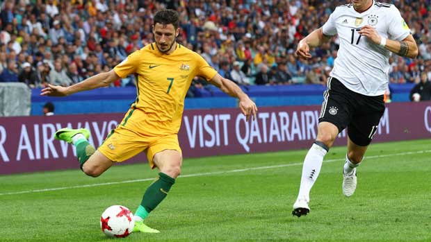 Mathew Leckie against Germany.