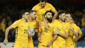 Tickets are now on sale for the Caltex Socceroos' make or break 2018 FIFA World Cup qualifying playoff at Stadium Australia in Sydney next month.