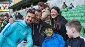 Gallery: Caltex Socceroos' Melbourne Fan Day