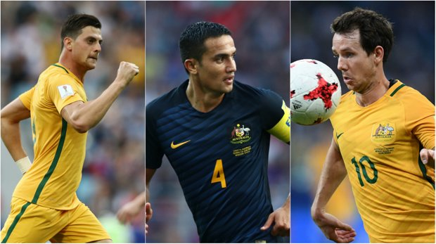Tomi Juric, Tim Cahill and Robbie Kruse are all likely to be key attacking weapons for coach Ange Postecoglou in his 23-man squad.
