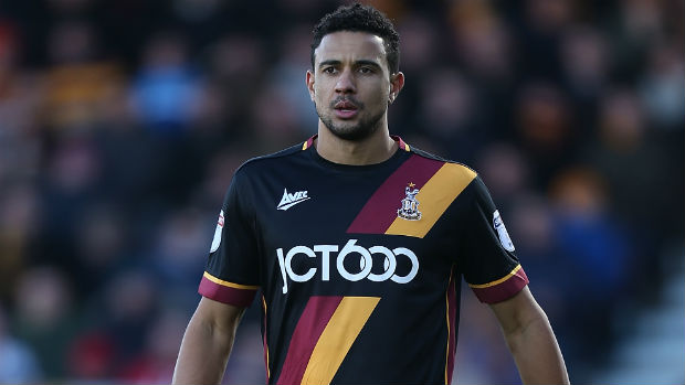Bradford City defender James Meredith.
