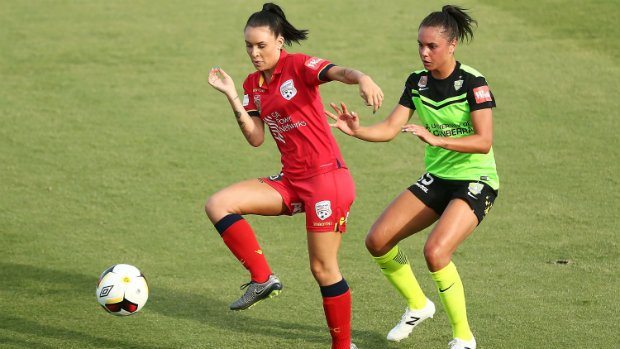 Adelaide United held Canberra United