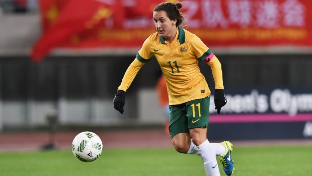 Westfield Matildas co-captain Lisa De Vanna