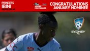 Sydney FC's young gun Princess Ibini.