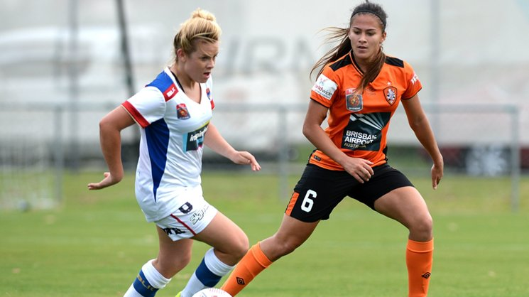 Fox Sports/ABC TV match sees Brisbane Roar and Newcastle Jets in a crucial encounter