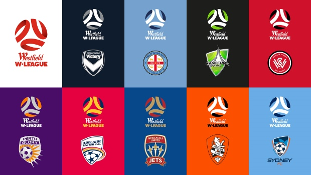 Westfield W-League new logos