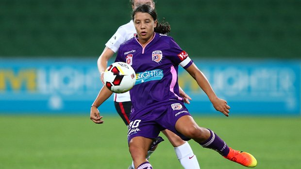 Sam Kerr has been nominated for the World Footballer of the Year award.