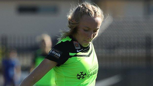 Canberra United forward Nickoletta Flannery