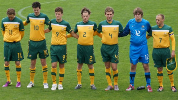 The Pararoos side that defeated Spain in August 2013.