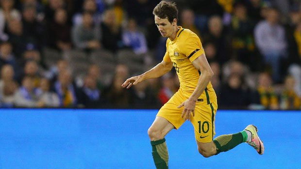 Robbie Kruse was on target in a friendly overnight in Newcastle.
