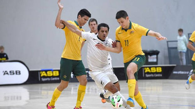 The Futsalroos downed New Zealand 6-0 to claim the Trans-Tasman Cup.