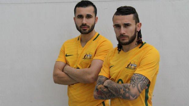 Futsalroos Shervin Adeli and Daniel Fogarty.