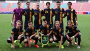 The Joeys starting XI that defeated Hong Kong 2-0 earlier in the tournament.