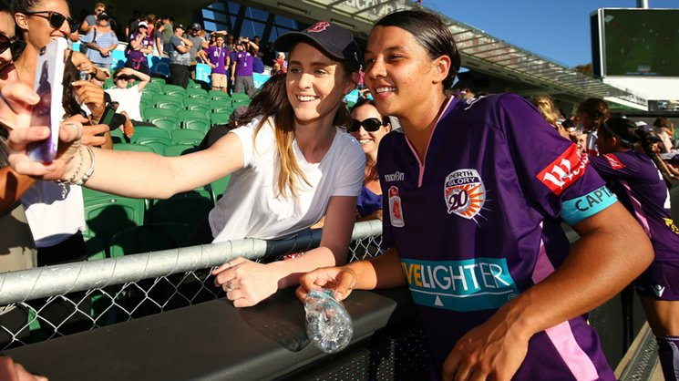 Red-hot Westfield Matildas star Sam Kerr will be in high demand when the Westfield W-League kicks off in late October.