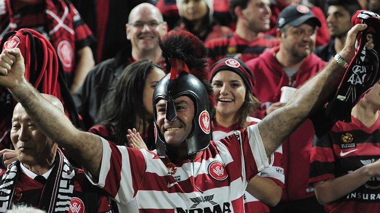Western Sydney fans pack Pirtek Stadium during their team's ACL campaign.
