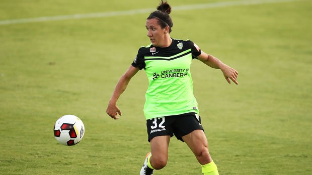 Canberra United attacker Lisa De Vanna.