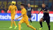 Iturbe in action for Hellas Verona FC.