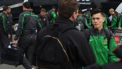 Joeys Captain Joe Caletti chats to FIFA Media upon arrival in Chile.