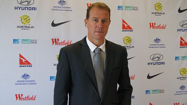 Stajcic following his appointment as the new Westfield Matildas coach.