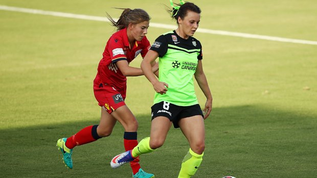 Matildas striker Hayley Raso played a full match in the Portland Thorns' 1-0 win over Chicago Red Stars.
