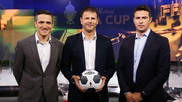 Michael Zappone, Mile Sterjovski and Paul Okon