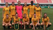 The Young Matildas starting XI against Thailand.