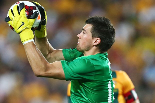 Mat Ryan capped a stellar season in Belgium with the goalkeeper of the year award.
