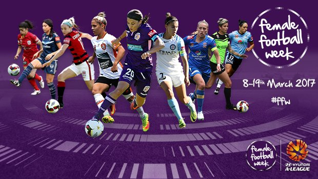 Women's Football will be recognised during Female Football Week (March 8-19)