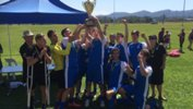 NSW celebrate winning the National Paralympic 7-A-Side Football Championship Final.
