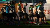 The Olyroos train in Doha ahead of their AFC U-23 Championship opener.