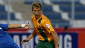 Stefan Mauk netted for the Young Socceroos against the USA.
