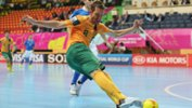 Fernando De Moraes in action during his playing days with the Futsalroos