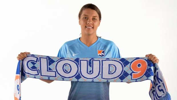 Sam Kerr was voted the player of the month in America for the second consecutive month in June.
