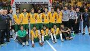 The Futsalroos squad at the 2015 AFF Futsal Championship. Image courtesy: Mark Seeto