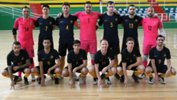 The Futsalroos squad following a friendly against Kazakhstan.