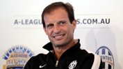 Juventus coach Massimiliano Allegri was pleasantly surprised by the standard of the Foxtel A-League All Stars.