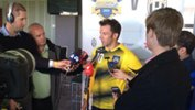 Alessandro Del Piero addresses media following Foxtel A-League All Stars training.
