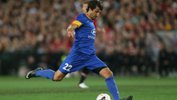 Thomas Broich in action for the Foxtel A-League All Stars against Manchester United.