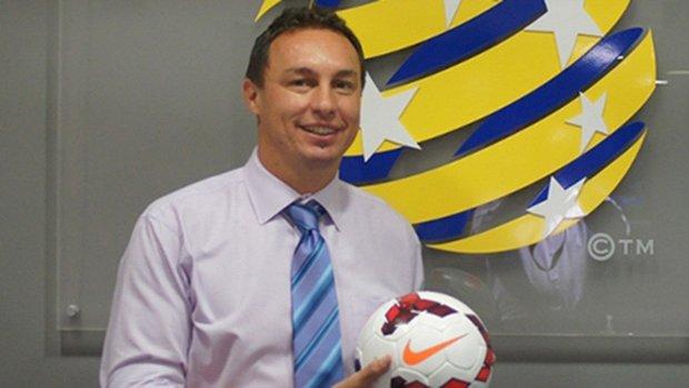 Mini Matildas Coach Ante Juric.