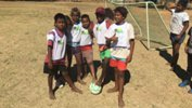 Brisbane Roar have taken ALDI MiniRoos football to one of the most remote parts of Australia.