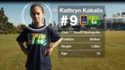 ALDI MiniRoo Kathryn Kakalis took on Melbourne Victory's Gulcan Koca in an amazing 'Match That' Challenge.