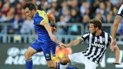 All Star captain Alessandro Del Piero in action against former club Juventus.
