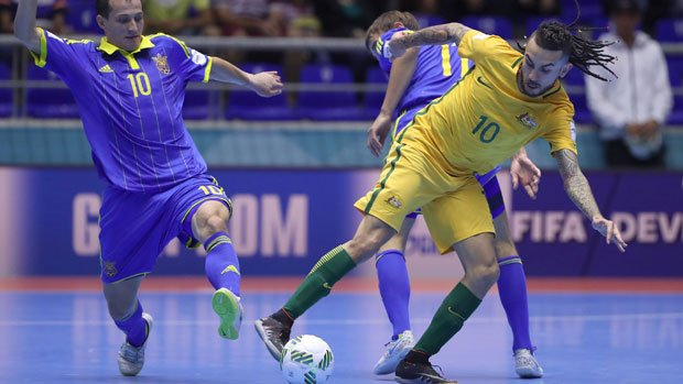 The Futsalroos went down 3-1 to Ukraine at the FIFA Futsal World Cup in Colombia.